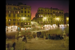 Piazza di Spagna from Spanish Steps